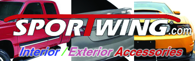 Aftermarket Parts, spoilers, side moldings, grills, ground effects and more from Sportwing
